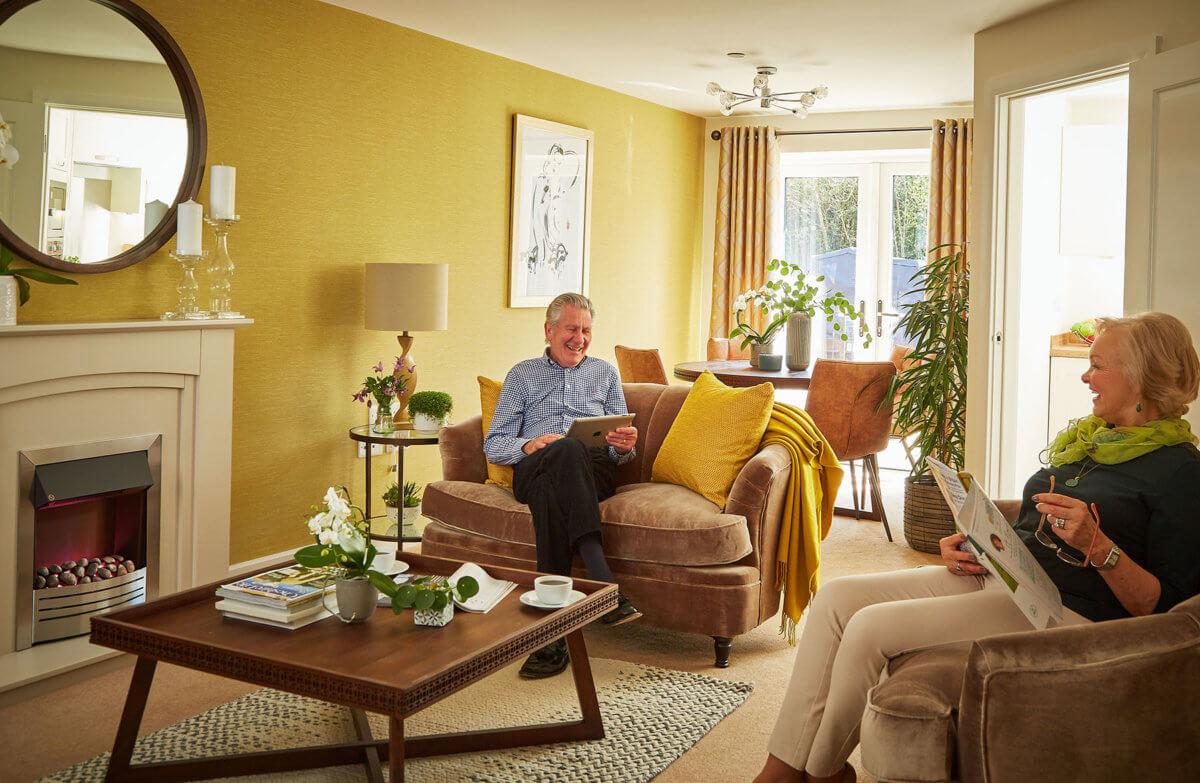 Stylish retirement living