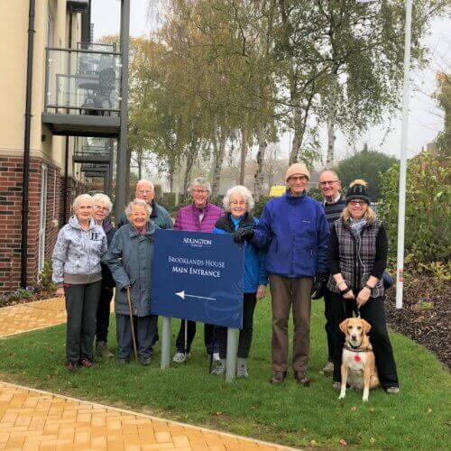 Brooklands House Walking Group