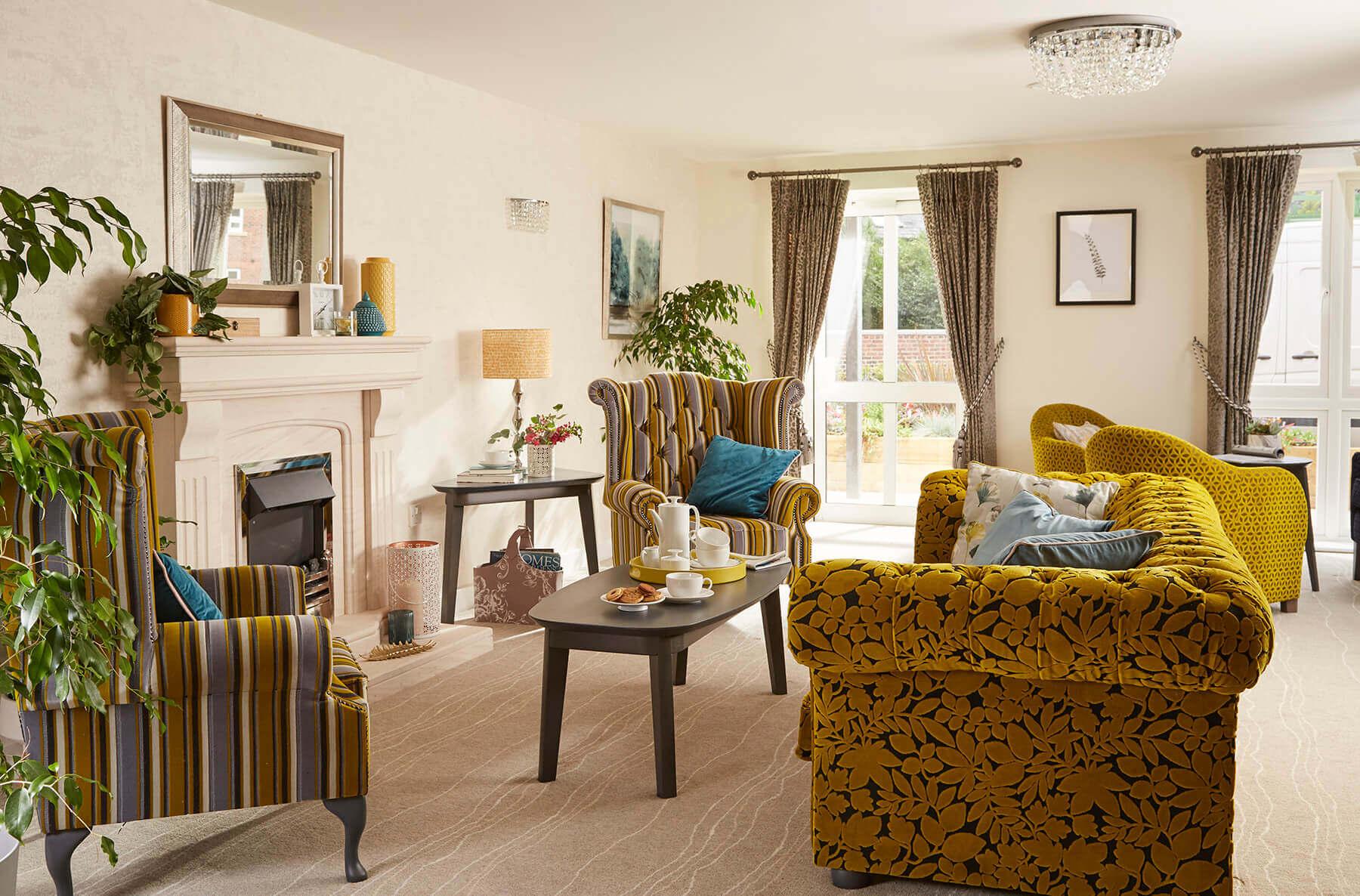 Luxury retirement home