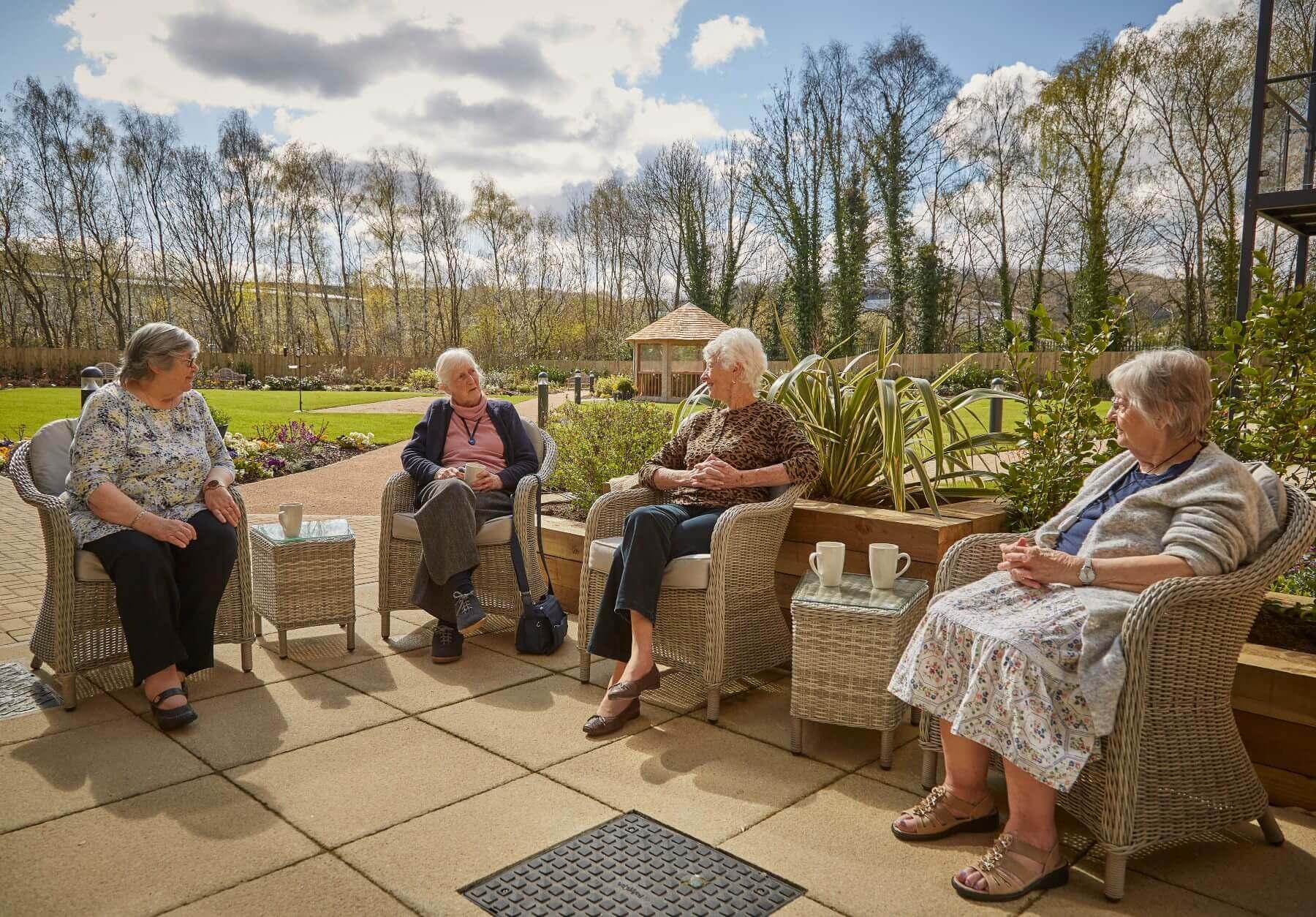 Sheffield retirement apartment resident
