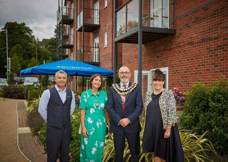Stockport retirement community Mayor opening